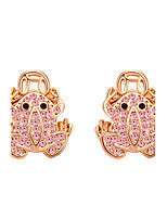 Women's Earrings Jewelry Fashion Personalized Euramerican Rhinestones Alloy Jewelry Jewelry For Wedding Party Anniversary