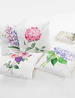 1 pcs  45*45cm Colorful Hydrangea  Pillow Case