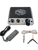 Professinal Mini Tattoo Power With Foot Pedal Clip Cord Supplies For Tattoo Studio