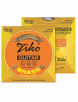 ZIKO DCZ011 Acoustic Guitar Strings  Wound Steel 6 Strings