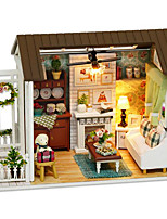 DIY KIT House Model & Building Toy Plastic Paper Wood Resin Children's