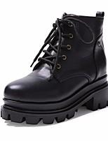 Women's Sneakers Comfort PU Spring Casual Comfort Black Under 1in