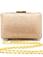 Ladies Square Fashion Hand Clutch Bags Evening Gold/Silver/Black/Blue