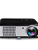 LCD WXGA (1280x800) Projector,LED 2500 High Definition Case Included Earbuds LED Light Classic 3K Screen Projector