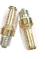 7W E14 E27 Lâmpadas Espiga 60 SMD 2835 600 lm Branco Quente Branco AC 220-240 V 2 pçs