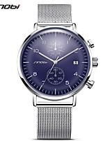 SINOBI Men's Adults' Sport Watch Dress Watch Fashion Watch Wrist watch Unique Creative Watch Chinese QuartzCalendar Water Resistant /