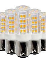 5W Lâmpadas Espiga 52 SMD 2835 400-500 lm Branco Quente Branco Frio V 5 pçs