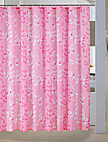 Modern PEVA with High Quality Mildew Bathroom Shower Curtains 180*180CM