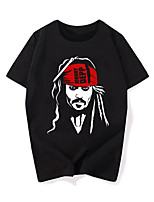 Cosplay Costumes Anime Hoodies & Sweatshirts Super Heroes Pirate Movie/TV Theme Costumes Movie Cosplay T-shirt Halloween Carnival Cotton