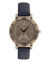 Women's Fashion Watch Quartz PU Band Black Blue Brown