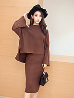Women's Party Short Cardigan,Solid Round Neck Long Sleeve Silk Winter Thin Inelastic