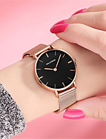 Women's Fashion Watch Quartz Water Resistant / Water Proof Alloy Band Sparkle Black Silver Gold