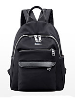 Women Backpack PU All Seasons Formal Sports Casual Camping & Hiking Office & Career Shopping Bucket Zipper Black