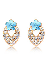 Women's Earrings Set Jewelry Fashion Personalized Euramerican Crystal Alloy Jewelry Jewelry For Wedding Party Anniversary