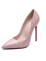 Women's Heels Comfort Patent Leather Spring Summer Wedding Office & Career Party & Evening Dress Stiletto Heel Walking Shoes