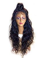 8 '' - 26 '' ondes naturelles glueless pleine dentelle cheveux humains lacet perruques avec des cheveux bébé pas cher perles de dentelle