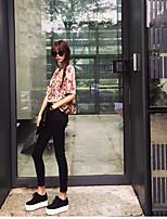 レディース ストリートファッション ローライズ ルーズ strenchy チノパン パンツ