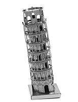 Puzzles Puzzles 3D Blocs de Construction Jouets DIY  Architecture Métal Maquette & Jeu de Construction