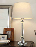 31-40 Crystal Contemporary Table Lamp , Feature for Decorative Ambient Lamps , with Use On/Off Switch Switch