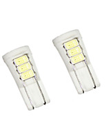 ®Shenmeile3W Super Bright T10 LED Car Tail Bulb Brake Lights auto Reverse Lamp Daytime Running Light white warm