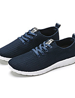 Men's Sneakers Comfort Light Soles Canvas Spring Summer Fall Winter Casual Outdoor Office & Career Comfort Light Soles Split JointFlat