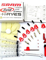 Bicycle hydraulic Disc Brake Bleed Kit tool For AVID ELIXIR JUICY CODE Formula HYGIA USAGI HAYES J3 J5 J7 Formula R1 RX K24 K18 Standard Kit