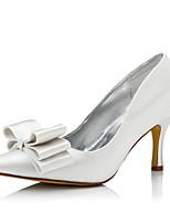 Femme Chaussures de mariage Confort club de Chaussures Chaussures Dyeable Soie Automne Hiver Habillé Soirée & EvénementConfort club de