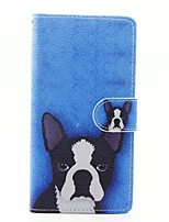 For Huawei P9 Lite P8 Lite (2017) Case Cover The Dog Pattern PU Leather Cases for Huawei Y625