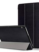 Крышка корпуса pu для huawei mediapad t3 10,0 ags-l09 ags-l03 9,6 дюйма с защитой экрана