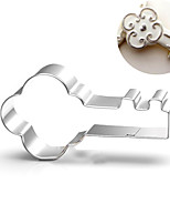 Vintage Key Cookies Cutter Stainless Steel Biscuit Cake Mold Metal Kitchen Fondant Baking Tools