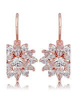 Women's Earrings Set Jewelry Unique Design Fashion Euramerican Zircon Alloy Jewelry Jewelry ForWedding Birthday Party/Evening Graduation