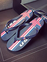 Men's Slippers & Flip-Flops Comfort PP (Polypropylene) Spring Casual Navy Blue Ruby Light Blue Flat