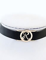 Choker  Necklaces  Women's  Euramerican  Cntracted Necklace Round Elegant Daily Office & Career Movie Jewelry