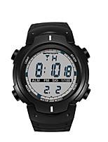 SANDA Homens Relógio Esportivo Relógio Militar Relógio Inteligente Relógio de Moda Relógio de Pulso Japanês DigitalLED Podômetro