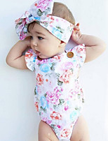 Baby Infants And Young Children Cotton Fashion Cartoon Printing Sleeveless Clothing Jumpsuit Climb Clothes