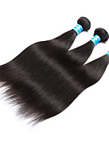 Vinsteen Straight Human Hair Extensions 3Pcs Peruvian Hair Weave Natural Black Human Hair Weft Double Weft Human Hair Weaves Wholesale Price