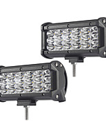 2PCS 54W-Row Flood Spot del Fascio Led Work Light Bar Offroad Led Driving Lampada 12 v 24 v per Camion SUV ATV 4x4 4WD Led Bar