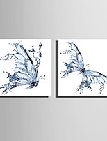 E-HOME Stretched Canvas Art Water Ripples The Butterfly  Decoration Painting One Pcs