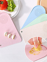 Multi-functional Household Small Cut Fruit Chopping Block Mini Kitchen Cutting CaiAn BanDao Board Wheat Straw Grinding The Garlic Color Random