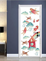 Ocio Pegatinas de pared Calcomanías de Aviones para Pared Calcomanías Decorativas de Pared,Vinilo Material Decoración hogareñaVinilos