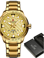 NAVIFORCE Homens Relógio Esportivo Relógio Militar Relógio Elegante Relógio de Moda Relógio de Pulso Bracele Relógio Relógio Casual