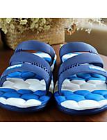 Masculino Chinelos e flip-flops Conforto PP (Polipropileno) Primavera Casual Conforto Cinzento Azul Azul+Rosa Rasteiro
