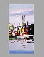 Pintados à mão Paisagem Vertical,Moderno Estilo Europeu 1 Painel Tela Pintura a Óleo For Decoração para casa