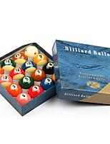 Billiard Balls Pool Case Included Impact Resistant Resin