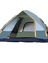 2 человека Световой тент Двойная Однокомнатная ПалаткаПоходы Путешествия-