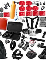 Para Todos Xiaomi Camera Gopro 5 Gopro 4 Black Sport DV SJCAM SJ4000 SJ5000 Esqui Equitação Uso Diário Esportes de Neve Motoclicleta