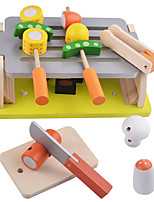 Pretend Play Toy Foods Kids' Cooking Appliances Model & Building Toy Wood Children's