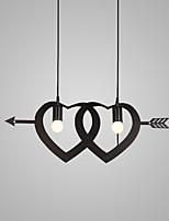 Подвесные лампы ,  Современный Винтаж Живопись Особенность for Мини Конструкторы МеталлГостиная Спальня Столовая Кухня Кабинет/Офис
