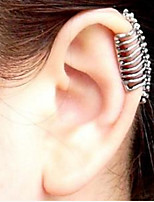 Ear Cuffs Halloween Jewelry Punk Cool Skull Female Earrings Have No Ear Hole