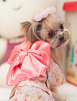 Dog Coat Tuxedo Dog Clothes Cute Cosplay Casual/Daily Fashion Princess Fuchsia